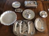 Lot of Silver Dinnerware