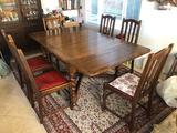 Antique English Extending Table
