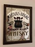 21x27in Chivas Regal Blended Whiskey Mirror