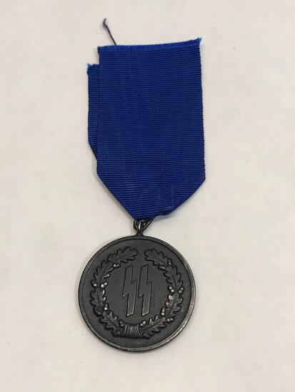 WW2 German Waffen SS 4 Year Service Medal
