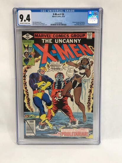 1979 Marvel X-Men #124 Comic CGC 9.4 Grade