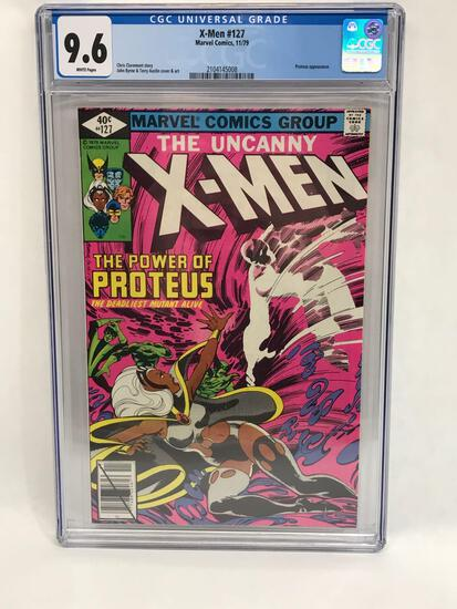 1979 Marvel X-Men #127 Comic CGC 9.6 Grade