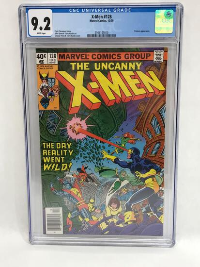 1979 Marvel X-Men #128 Comic CGC 9.2 Grade