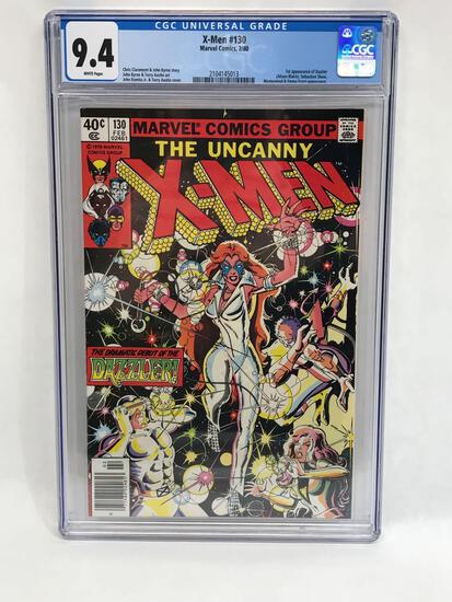 1980 Marvel X-Men #130 Comic CGC 9.4 Grade