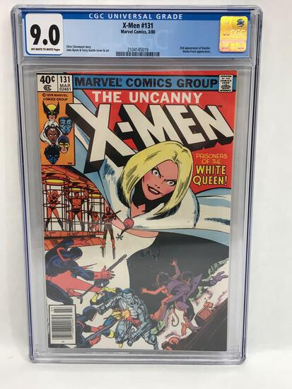 1980 Marvel X-Men #131 Comic CGC Graded 9.0