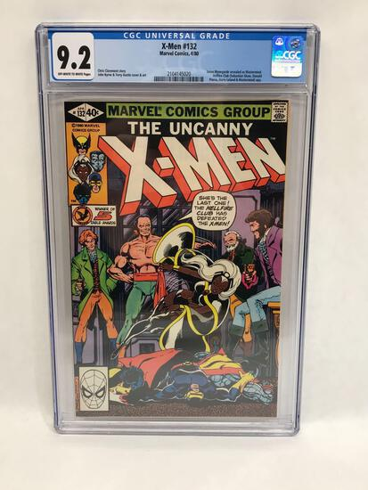 1980 Marvel X-Men #132 Comic CGC Graded 9.2