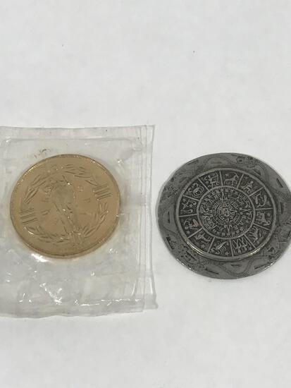 1979 ECU Europa Coin Mayan Calendar Coin
