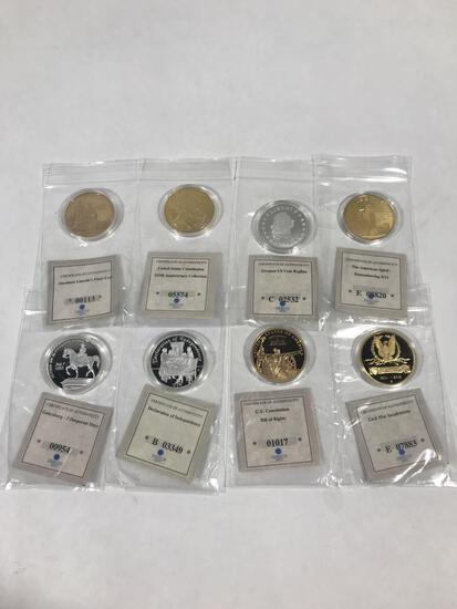 American Mint Commemorative Coins 8 Units