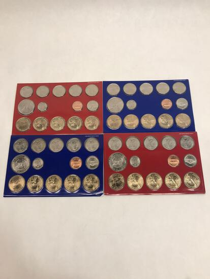 2007 2008 Denver Philadelphia Coin Set 4 Units