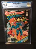 1978 DC Presents #1 Superman Flash Graded 9.4 Comic