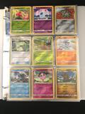 200+ Pokemon Cards In Pages And Binder