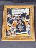 Signed Framed Pittsburgh Penguins Mario Lemieux Photograph, Signature w/ COA