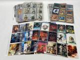 Collection of Cards, Borris Vallejo Art, MTG, Yu-Gi-Oh, Fisney, etc