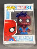 NIB Spider-Man Funko POP Signed by Stan Lee w/ COA