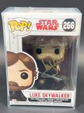 NIB Luke Skywalker Funko POP Signed by Mark Hamill w/ COA