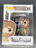 NIB Tyrion Lannister Funko POP Signed by Peter Dinklage w/ COA