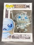NIB White Walker Funko POP Signed by Ross Mullan w/ COA