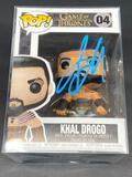 NIB Kahl Drogo Funko POP Signed by Jason Momoa w/ COA
