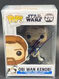 NIB Obi Wan Kenobi Funko POP Signed by Ewan McGregor w/ COA