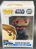 NIB Anakin Skywalker Funko POP Signed by Hayden Christianson w/ COA