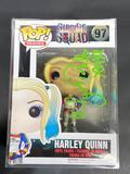 NIB Harley Quinn Funko POP Signed by Margot Robbie w/ COA