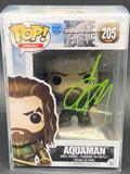NIB Aquaman Funko POP Signed by Jason Momoa w/ COA