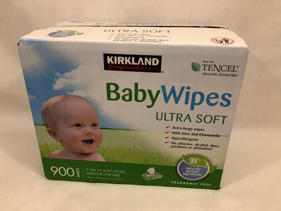 Kirkland 900 Count Baby Wipes Ultra Soft New In Box