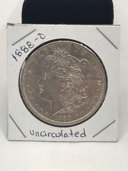 1888-O Uncirculated Morgan Silver Dollar
