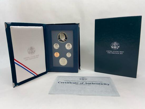 United States Mint 1990 Prestige Set
