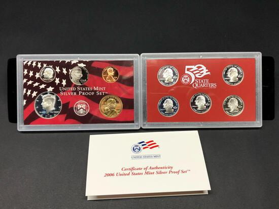 United States Mint Silver Proof Set 2006 Double Set