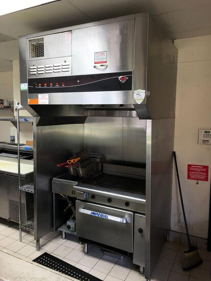 Wells Manufacturing Commercial Kitchen Hood