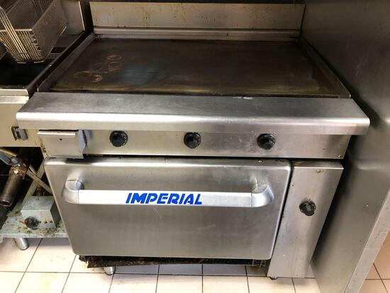 Imperial Commercial Kitchen Oven Griddle