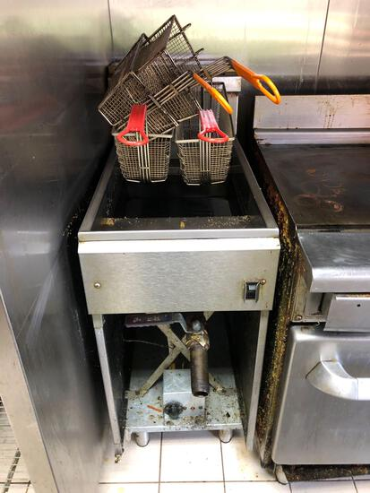 Imperial Commercial kitchen fryer