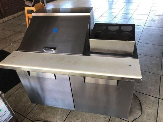True Manufacturing Refrigerated Prep Table