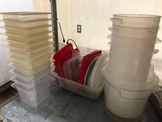 Line Prep Plastic Bins