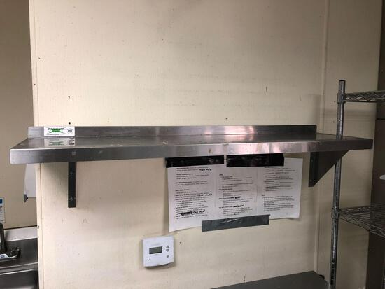 Commercial Kitchen Shelf 4 ft Wide