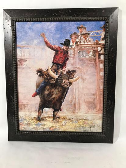 A.F. Vallee Framed Art Print