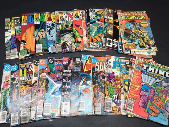 40 Vintage Comics DC Marvel Thing Nam Sgt. Rock