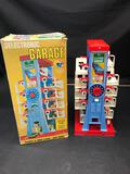 1970s Selectronic Garage Toy In Box