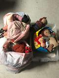 3 Bags Full Raggedy Anne Andy Dolls