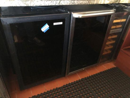 3 Commercial Wine Fridges, For Parts - Talega Village