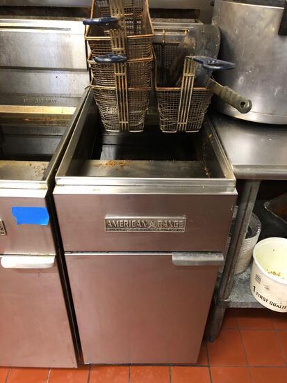 American Range Commercial Kitchen Fryer Talega Village