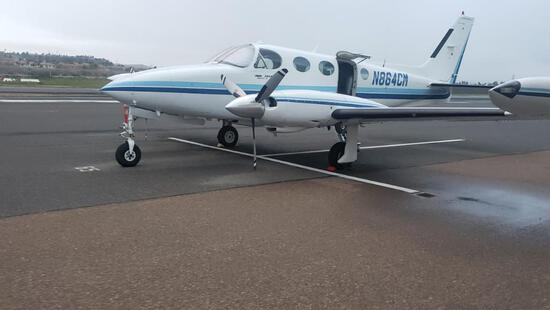1979 Cessna 340A 4225 hours on Airframe