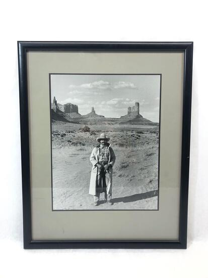 Buck Taylor by Gary Potter, Signed & Framed Photograph