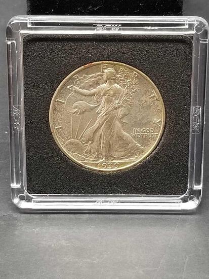 1939 Walking Liberty Half Dollar Uncirculated
