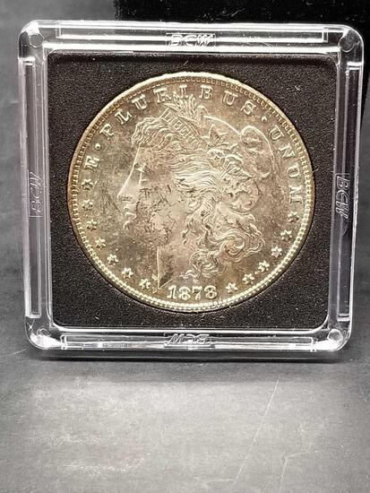 1878-S Morgan Silver Dollar Uncirculated