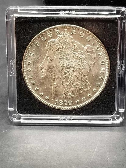 1879-S Morgan Silver Dollar Uncirculated
