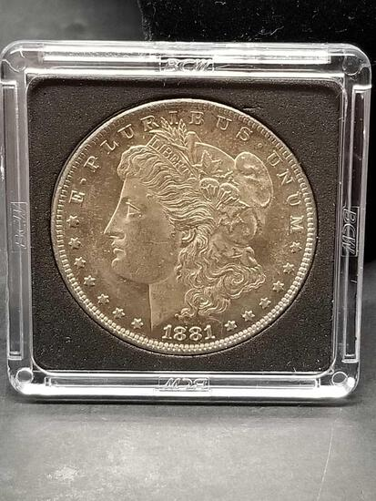 1881-O Morgan Silver Dollar Uncirculated