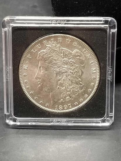 1897 Morgan Silver Dollar Uncirculated