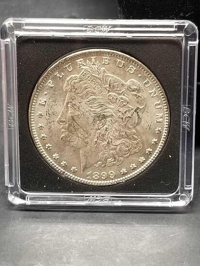 1899 Morgan Silver Dollar Uncirculated